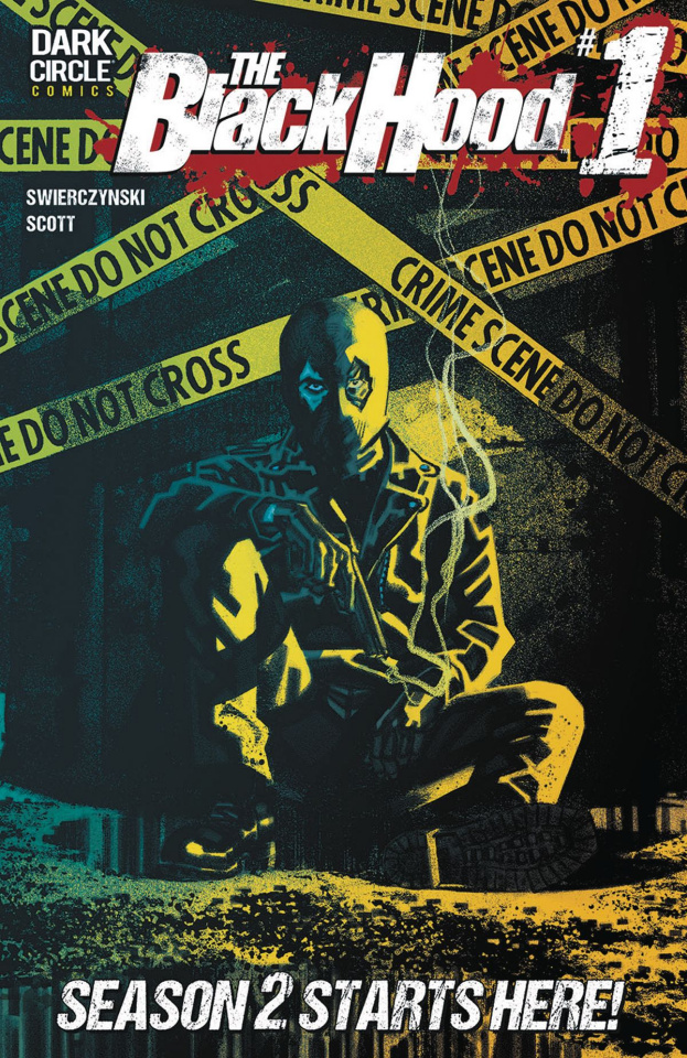The Black Hood, Season 2 #1 (Smallwood Cover)