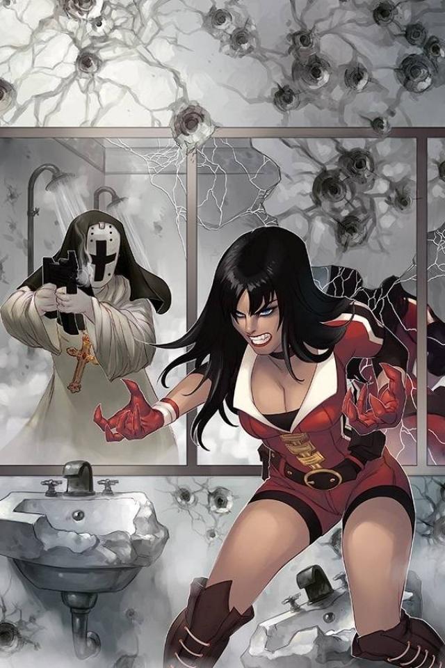 Vampirella #10 (11 Copy Hetrick Virgin Cover)