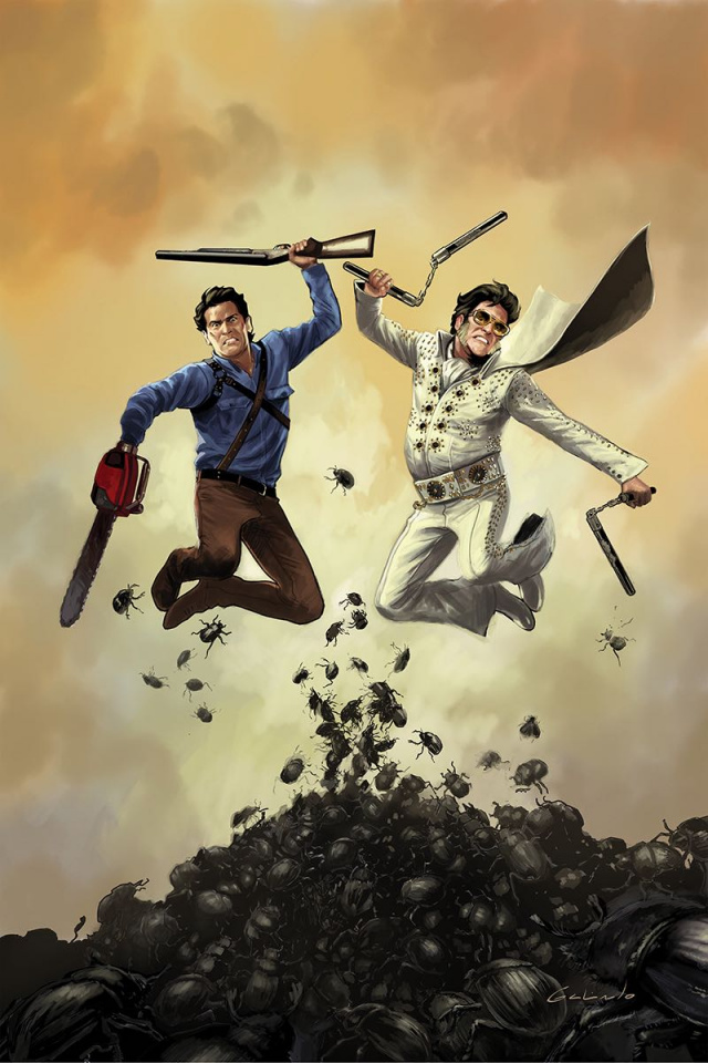 Army of Darkness / Bubba Ho-Tep #3 (10 Copy Galindo Virgin Cover)