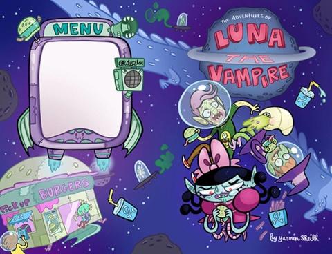 Luna: The Vampire Vol. 1: Grumpy Space