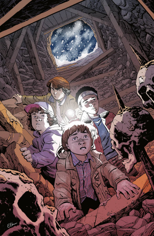 Stranger Things: The Tomb of Ybwen #3 (Young Cover)