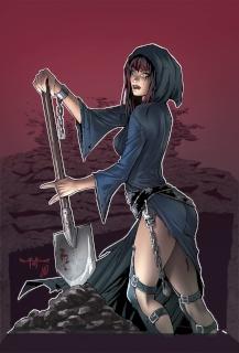 Grimm Fairy Tales: Grimm Tales of Terror #12 (Qualano Cover)