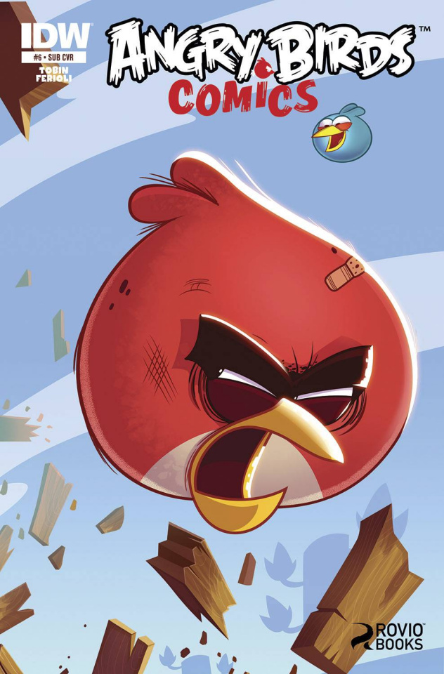 Angry Birds Comics #6 (Subscription Cover)