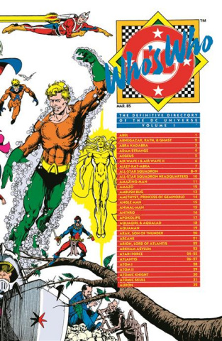Who's Who Vol. 1 (Omnibus)