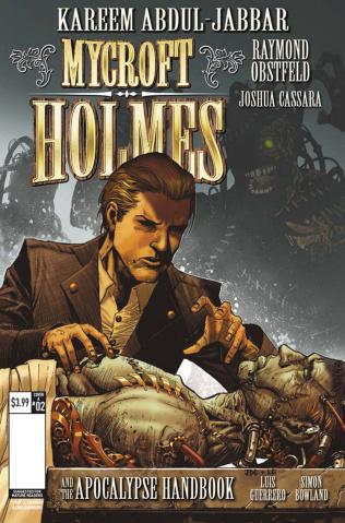 Mycroft Holmes #2 (Cassara Cover)