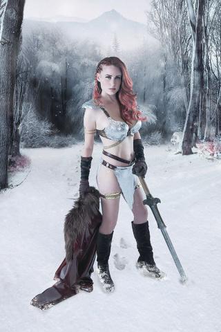 Red Sonja: Birth of the She-Devil #3 (30 Copy Cosplay Virgin Cover)