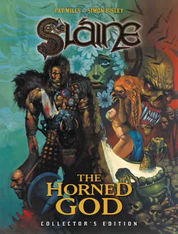 Slaíne: The Horned God (Collected Edition)