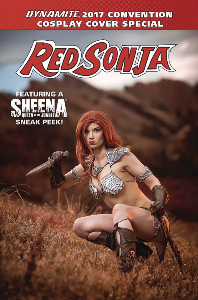 Dynamite: 2017 Cosplay Cover Special (Ashley Du Signed Cover)