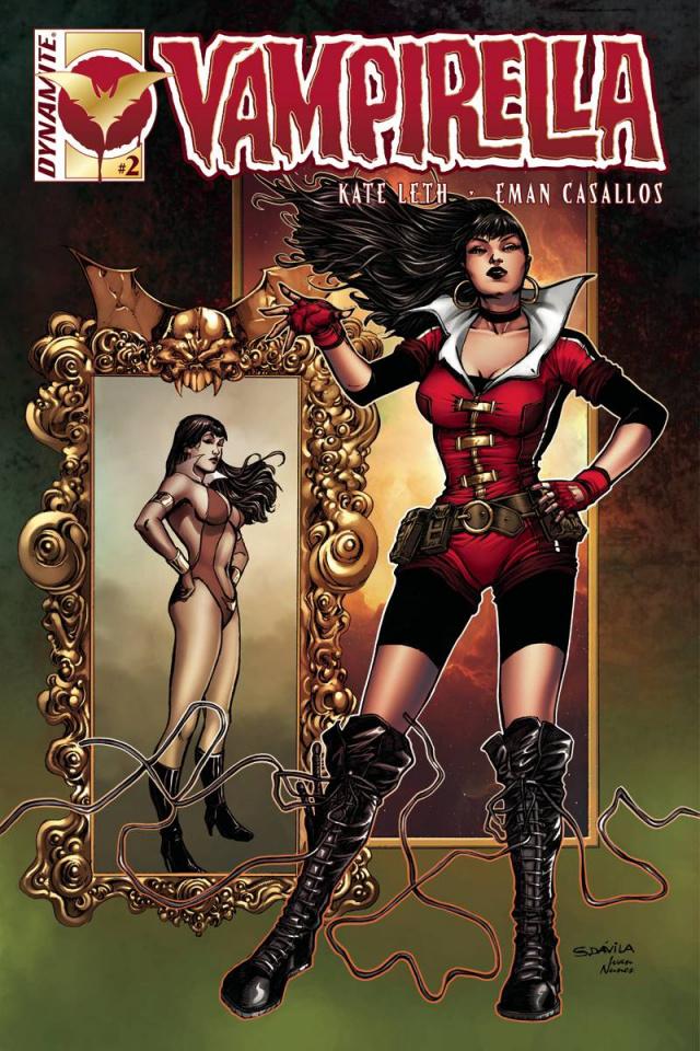 Vampirella #2 (Davila Cover)