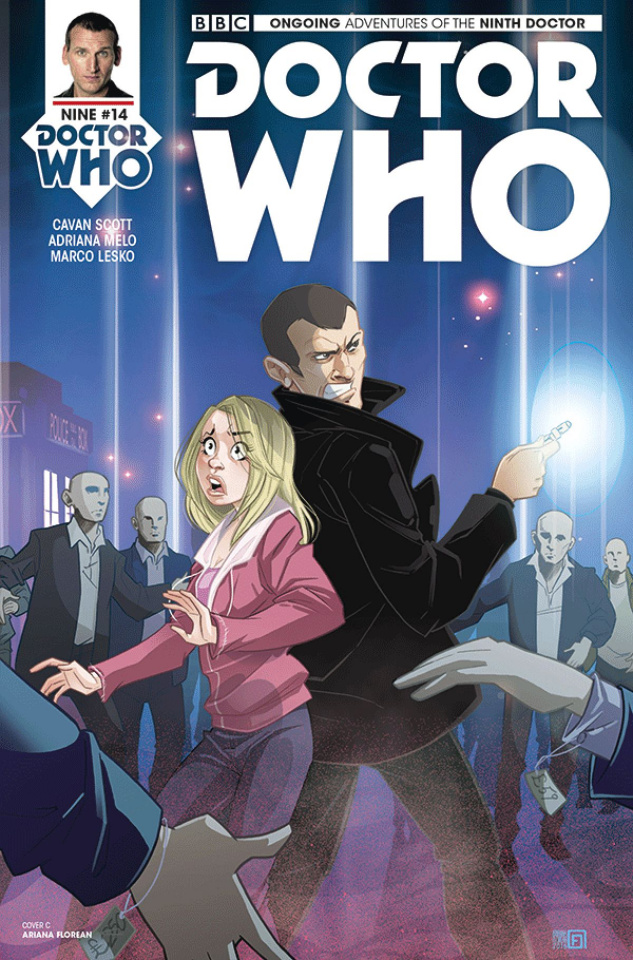 Doctor Who: New Adventures with the Ninth Doctor #14 (Florean Cover)
