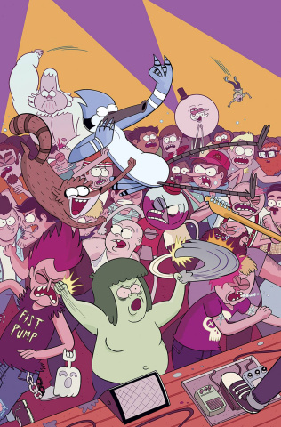 Regular Show #27 (Subscription Ellerby Cover)