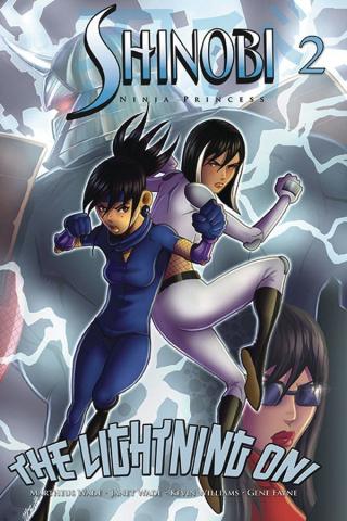Shinobi, Ninja Princess: The Lightning Oni #2