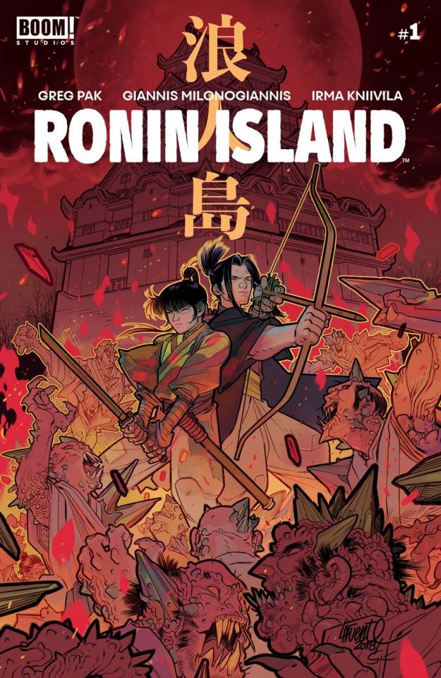 Ronin Island #1 (15 Copy Lafuente Cover)