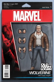 Old Man Logan #1 (Christopher Action Figure Cover)
