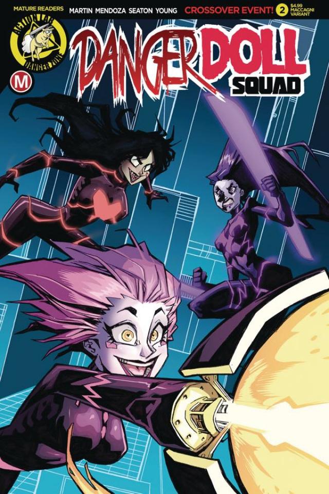 Danger Doll Squad #2 (Maccagni Cover)