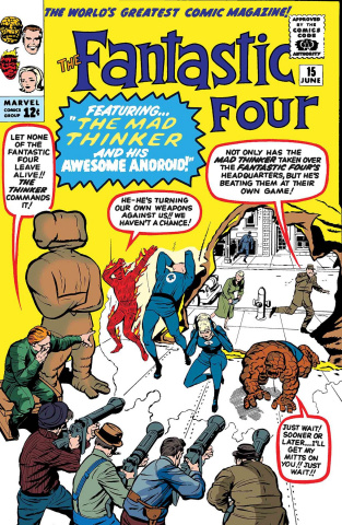 Fantastic Four: The Mad Thinker Droid #1 (True Believers)