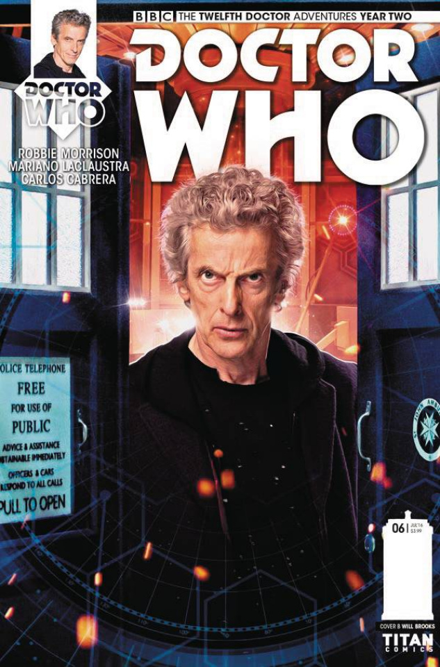 Doctor Who: New Adventures with the Twelfth Doctor, Year Two #6 (Photo Cover)