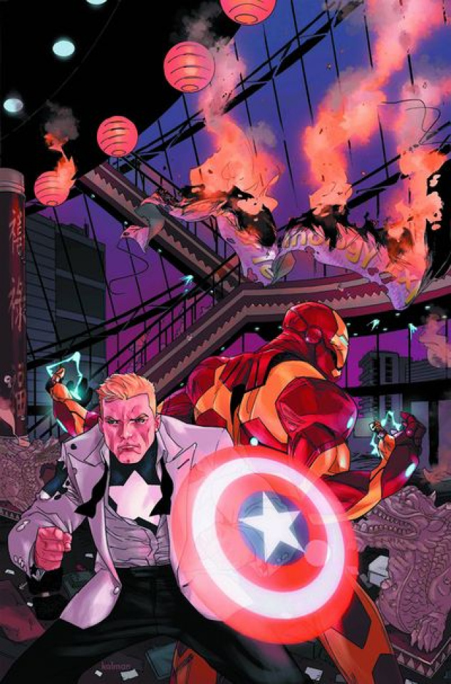 Captain America & Iron Man #633