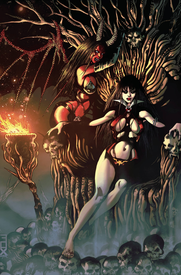 Vampirella vs. Purgatori #3 (20 Copy Fox Virgin Cover)