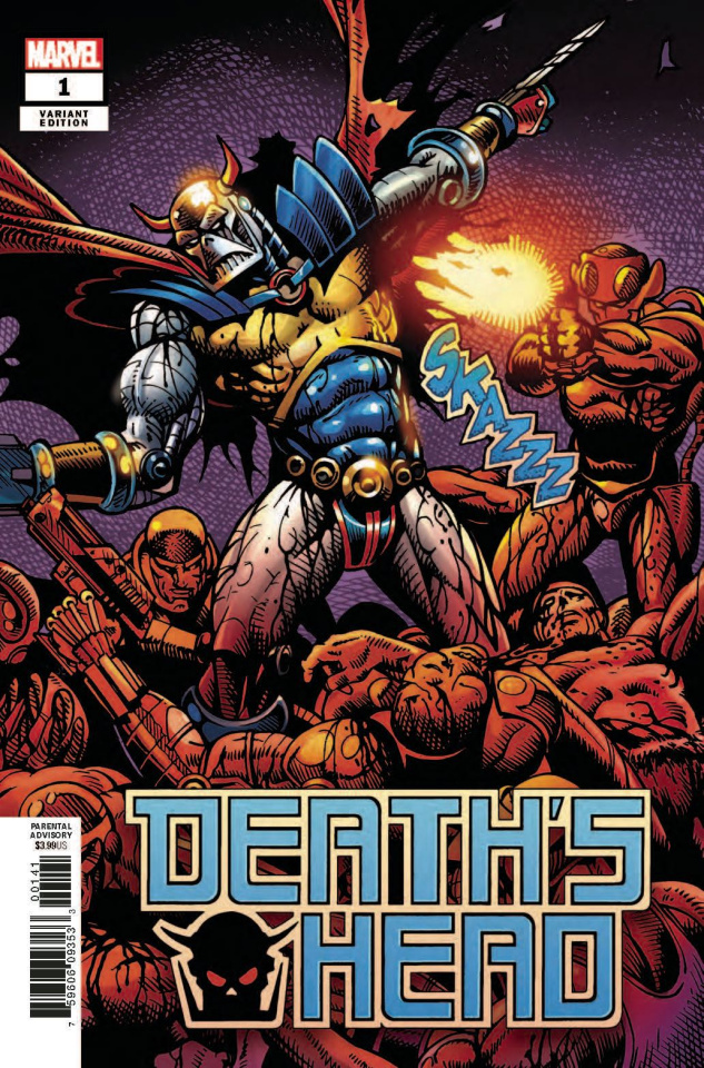 Death's Head #1 (Sharp Remastered Cover)
