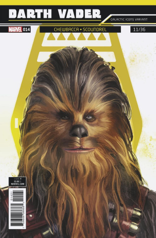 Star Wars: Darth Vader #14 (Reis Galactic Icon Cover)