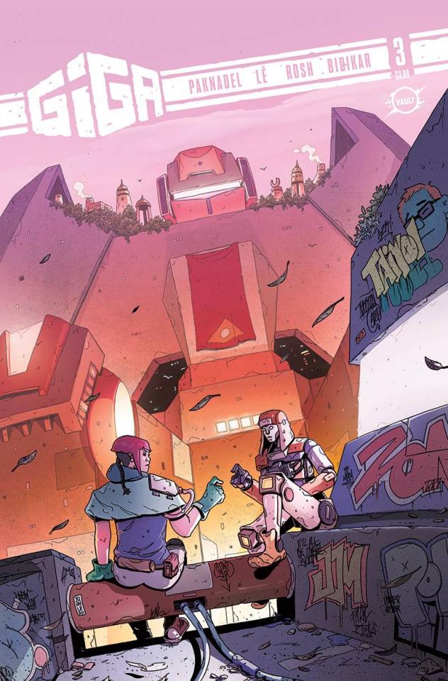 Giga #3 (Le Cover)