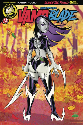Vampblade, Season Two #12 (Garcia Cover)