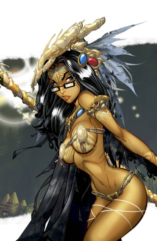 Grimm Fairy Tales: Dark Shaman #2 (Green Rare Cover)