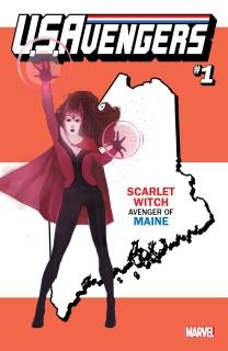 U.S.Avengers #1 (Reis Maine State Cover)