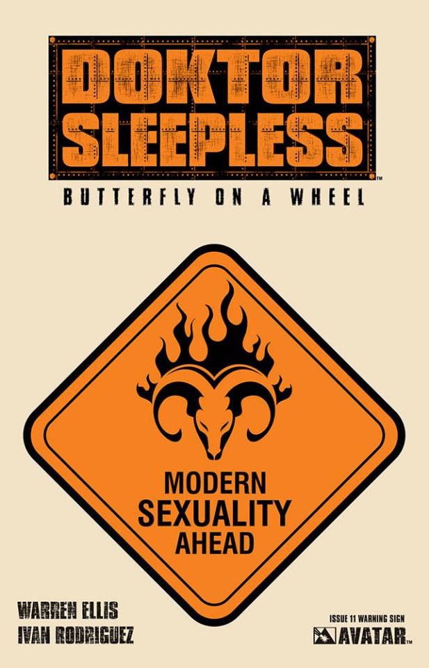 Doktor Sleepless #11 (Warning Sign Cover)