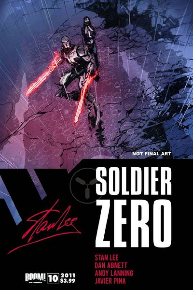 Stan Lee's Soldier Zero #10