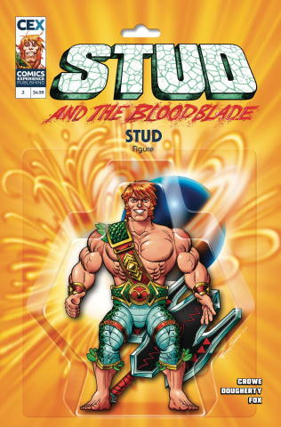 Stud and the Bloodblade #2 (Santalucia Cover)