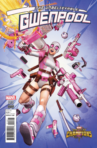 Gwenpool #13 (Game Cover)