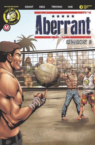 Aberrant, Season 2 #3 (Leon Dias Cover)