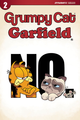 Grumpy Cat / Garfield #2 (Hirsch Cover)