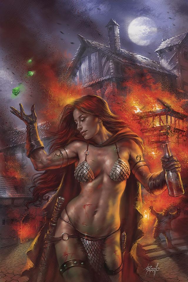 Red Sonja: Birth of the She-Devil #1 (Parrillo Virgin Cover)