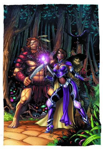 Grimm Fairy Tales: The Warlord of Oz #3 (Ortiz Cover)