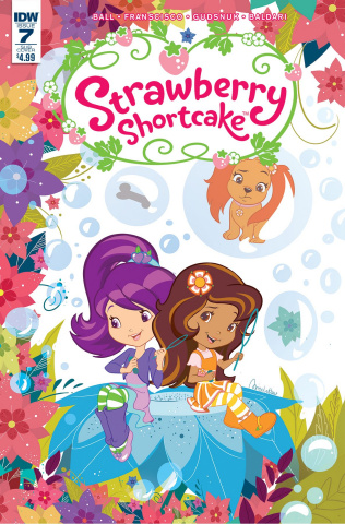 Strawberry Shortcake #7 (Subscription Cover)