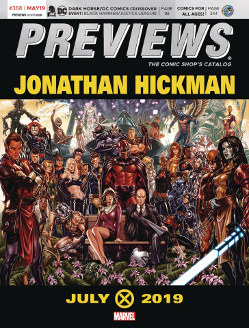 Previews #370: July 2019