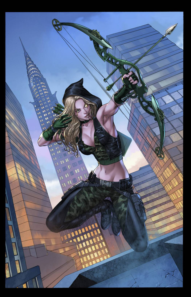 Grimm Fairy Tales: Robyn Hood #2 (Miller Cover)