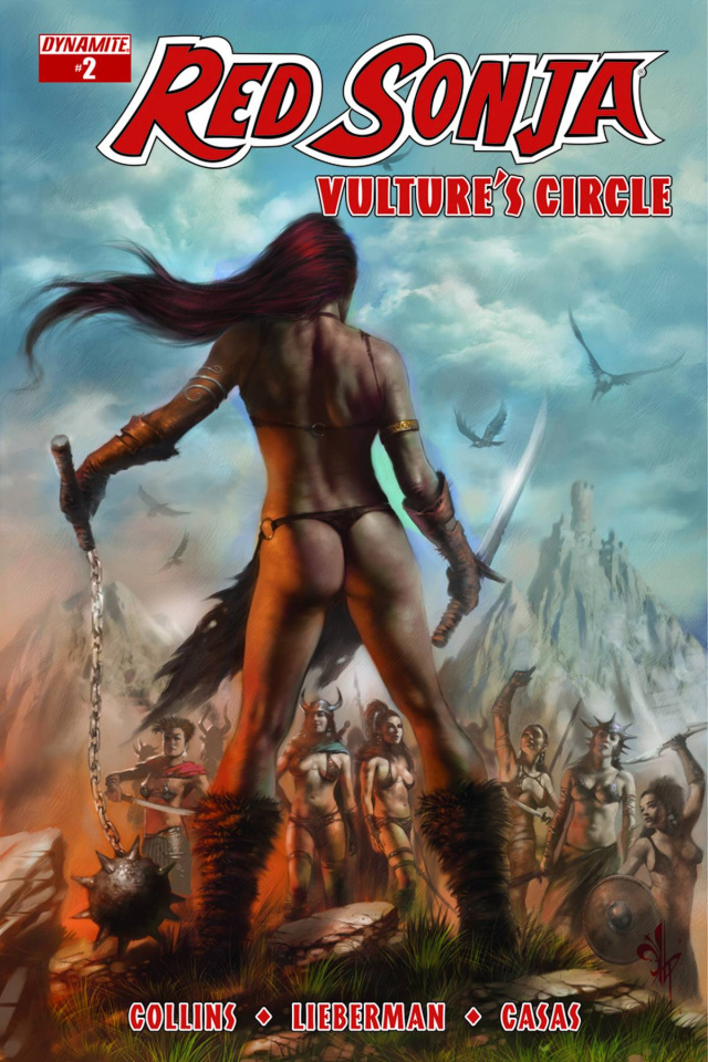 Red Sonja: Vulture's Circle #2 (Subscription Cover)