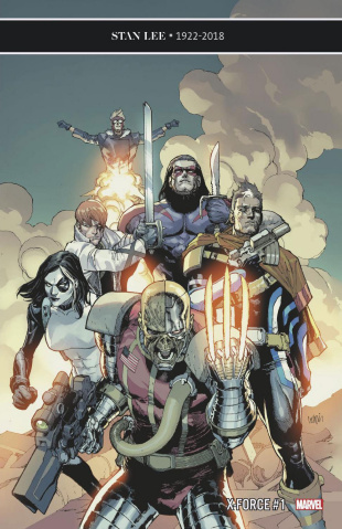 X-Force #1 (Yu Cover)