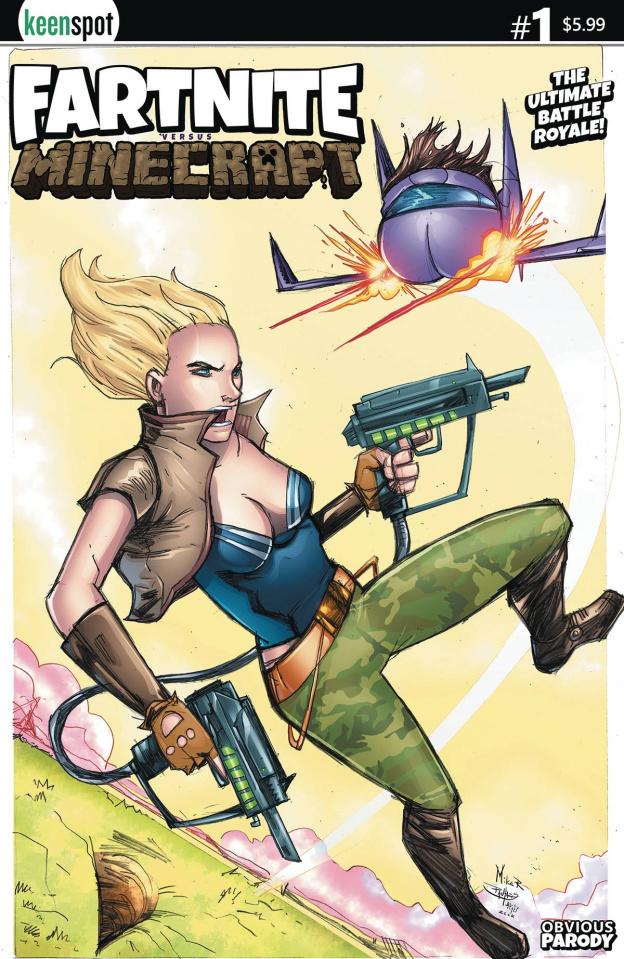 Fartnite vs. Minecrapt #1 (Rosenzweig Cover)