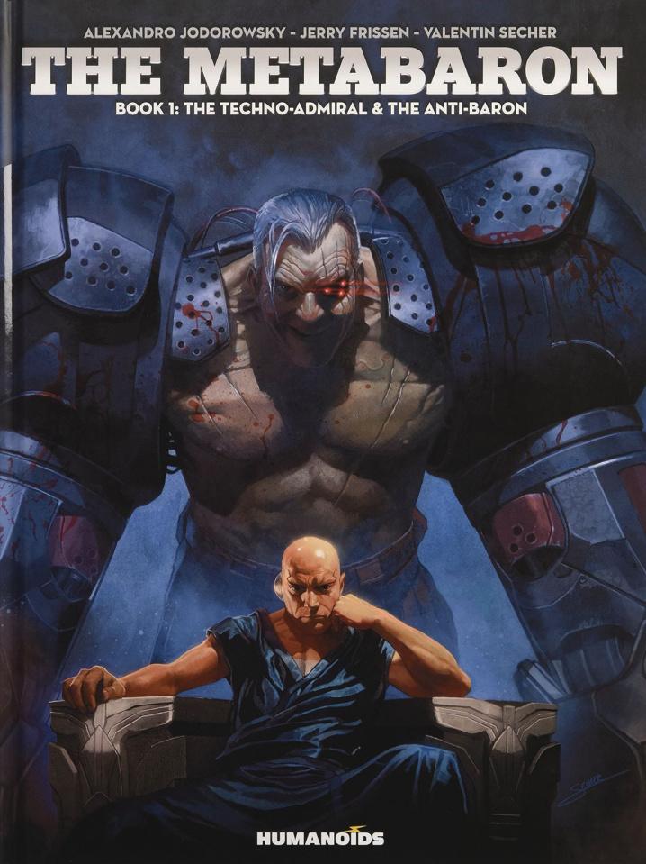 The Metabaron Vol. 1: The Techno-Admiral & The Anti-Baron