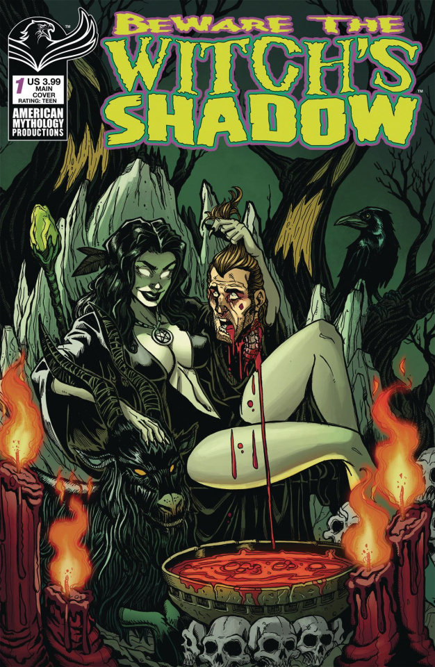 Beware the Witch's Shadow #1 (Calzada Cover)