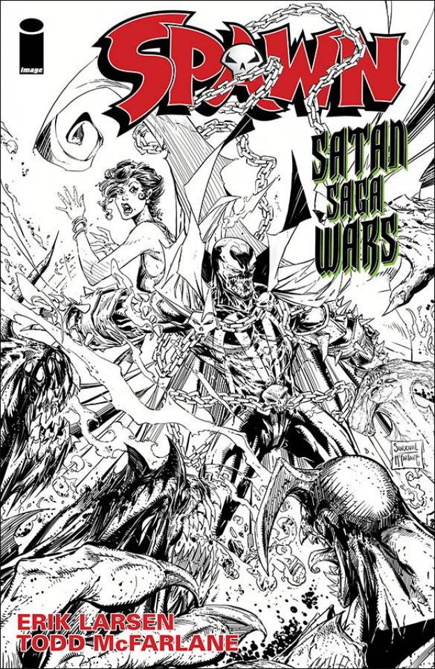 Spawn #259 (Sandoval & McFarlane Cover)