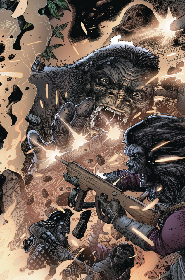 Kong on the Planet of the Apes #6 (Connecting Magno Cover)