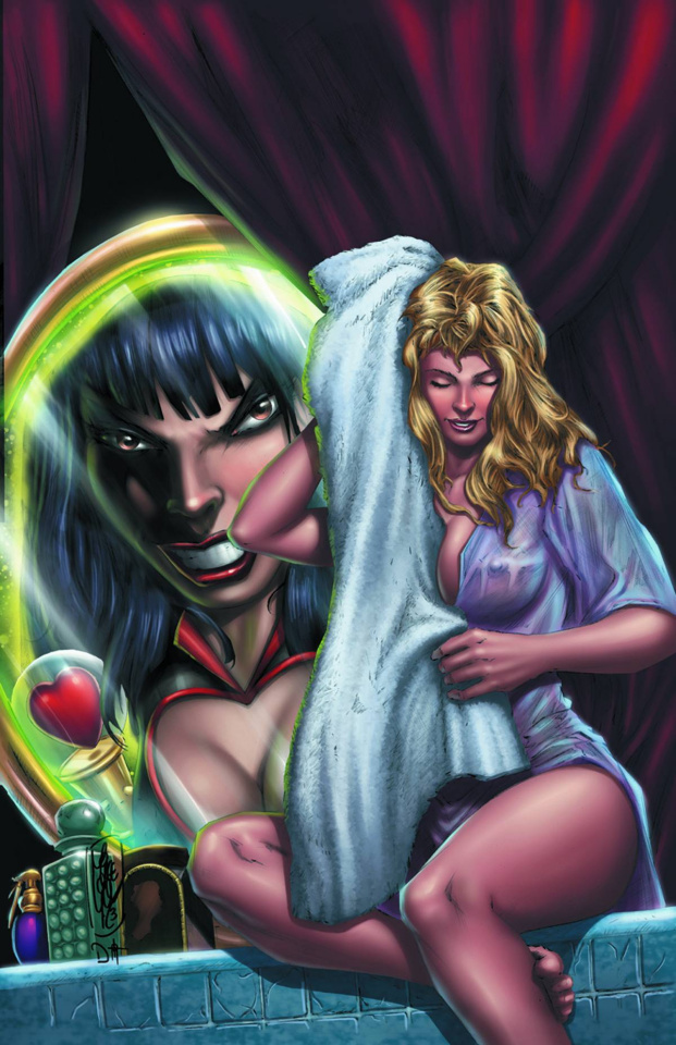 Grimm Fairy Tales: Wonderland #12 (Lilly Cover)