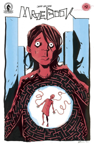 Mazebook #2 (Lemire Cover)