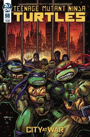 Teenage Mutant Ninja Turtles #98 (Eastman Cover)